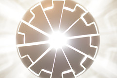Circle of light (FourmiMiel) Tags: disk geometry abstract light white circle