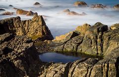 Rock Pool (raghnallg (280 K views).) Tags: pan headballycastle stones seascape rockpool landscape antrim sea tide