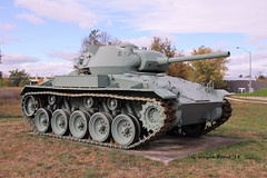 M24 Chaffee Light Tank (Gerald (Wayne) Prout) Tags: m24chaffeelighttank m24 chaffee light tank lighttank americanlighttank m24lighttank canadianforcesbaseborden cfbborden simcoecounty ontario canada prout geraldwayneprout canon canoneos60d eos 60d digital dslr camera canonlensefs18135mmf3556is lens efs18135mmf3556is photographed photography tanks armored vehicle military cadilac masseyharris american canadian forces borden base canadianforces campborden simcoe county