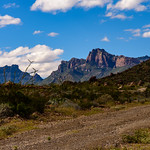 Chisos Mountains From the Glenn Springs Road thumbnail