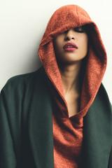 BAsma (aminefassi) Tags: aminefassicom basmaelbachyry casablanca copyright drissidrissi fashion mode morocco people portrait shooting studio color orange green flash sony a7riii 55mmf18 beauty aminefassi login