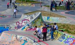 Frankfurt (Skateboard-Platz neben der EZB) (JohannFFM) Tags: skateboard ezb frankfurt