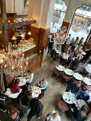 View from the balcony seating area (loustejskal) Tags: stockholm sweden wienercaféet pastry dessert cafe stockholmrestaurant