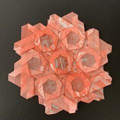 (kz_miu910) Tags: 摺紙 折纸 tessellation origamitessellation origami おりがみ 折り紙