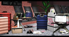 Wanderlust (Alexa Maravilla/Spunknbrains) Tags: loftaria thearcade arcade airport travel sl secondlife bondi ultra emarie applefall sayo 22769 vm indoors blog blogger decor decorate