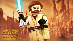 LEGO Star Wars: The Clone Wars - Obi-Wan Kenobi Preview (MGF Customs/Reviews) Tags: lego star wars the clone saved james arnold taylor ewan mcgregor custom figure minifigure disney lucasfilm