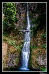 Multnomah Falls -1A (billthomas_steel) Tags: waterfalls multnomahfalls columbiariver oregon usa columbiagorge landscape nature bridge