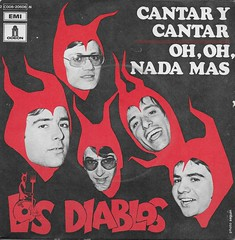 "Los Diablos 7"" Record (Donald Deveau) Tags: devil losdiablos record 45rpm vinyl"