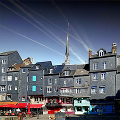 Honfleur, Normandie, France (pom'.) Tags: panasonicdmctz101 may 2018 normandie normandy france europeanunion harbor honfleur sky lisieux honfleurdeauville paysdehonfleurbeuzeville vieuxbassin 100 200 300 14
