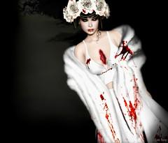 Lori Novo (Lori Novo) Tags: lorinovo secondlife avatar virtual blogger october costume belleepoque groupgift halloween glamaffair boudoir
