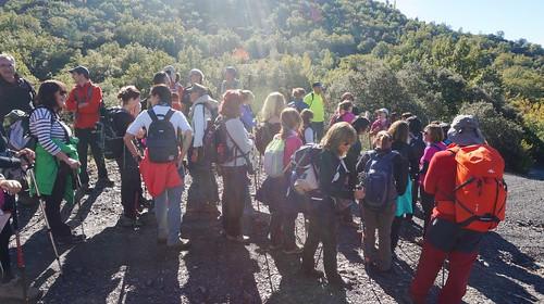 Marcha de Senderismo dos días Magosto en el Espino, León Fotografía Tomas Sanz