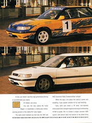 1993 Subaru  Liberty RS Turbo Sedan & Wagon Page 1 Aussie Original Magazine Advertisement (Darren Marlow) Tags: 1 3 9 19 93 1993 s subaru l liberty t turbo sedan w wagon c car cool collectible collectors classic a automobile v vehicle j jap japan japanese asian 90s