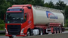 PL - Szalkowski Volvo FH 460 GL04 (BonsaiTruck) Tags: lag szalkowski volvo lkw lastwagen lastzug silozug truck trucks lorry lorries camion caminhoes silo bulk citerne püowdertank