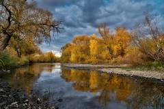Nahe Autumn (Parchman Kid (Jerry)) Tags: nahe autumn river colors fall cloud clouds cloudy parchmankid sony a6500
