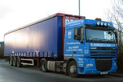 VKZ 4471 (Cumberland Patriot) Tags: daf xf 105460 sc space cab artic articulated unit truck vkz4471