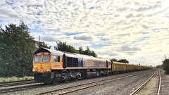 66756 Humberstone road, Leicester (jimscott2) Tags: ballast ioa mountsorrel leicester 66756 gbrf