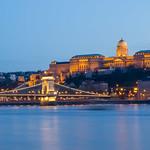 Buda Castle at blue hour thumbnail