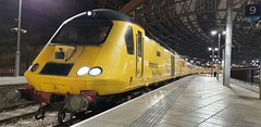 Network Rail 43013 @ Liverpool Lime Street (Liam Blundell Photography) Tags: hst 1q30 derby rtc crewe cs test train liverpool lime street banana supershot fine gold