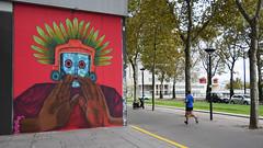 No not there ! (HBA_JIJO) Tags: streetart urban graffiti paris art france hbajijo wall mur painting saner peinture spray urbain scene