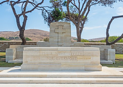 East Moudros War Cemetery - Limnos (North Aegean - Greece) (Olympus OM-D EM1-II &  M.Zuiko 12-40mm f2.8 Pro Zoom) (markdbaynham) Tags: greece greek limnos lemnos eastmoudros moudros militarycemetery cemetery grecia greka greekholiday gr memorial historic northaegean northaegeanisland olympus omd olympusomd olympusgreece olympusem1 olympusmft mft m43 1240mm f28 em1 em1mk2 em1mark2 em1mkii olyem1 mirrorless csc evil travel ww1 dardenelles graveyard microfourthird microfourthirds micro43 mzd zd mz mzuiko zuikolic m43rd warmemorial military