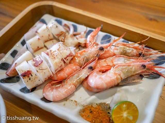 里海Cafe的海鮮食材真的超推,有機會一定要來吃烤魚,絕對難忘