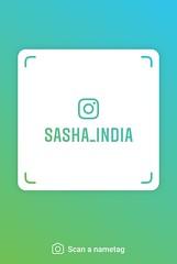 example of nametag for Instagram (Sasha India) Tags: instagram nametag instatag tag name sashaindia дизайн qrcode design 設計 디자인 التصميم σχέδιο डिज़ाइन வடிவமைப்பு desenhar projekt עיצוב desain