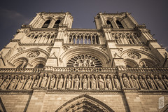 Notre-Dame (Corbicus Maximus) Tags: cathedral catholic notredame notre dame paris france french architecture nikon d7200 18140mm lightroom sky