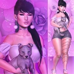 #68♔ (lLipsya) Tags: catwa catya maitreya pseudo gaia lêtre reign bf beautyfactory kuni llipsya blogger {psychobyts} rose pink pompom starlight girlpower event leluck