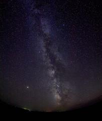 Night Sky at the Badlands NP - EMB24326 (j_m_kubler) Tags: olympus em5 olympus8mmf18pro badlandsnationalpark
