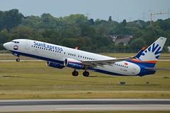 SunExpress TC-SEM Boeing 737-8HC Winglets cn/61173-5599 @ EDDL / DUS 16-06-2017 (Nabil Molinari Photography) Tags: sunexpress tcsem boeing 7378hc winglets cn611735599 eddl dus 16062017