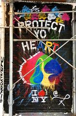 Protect Yo Heart (wiredforlego) Tags: graffiti mural streetart urbanart aerosolart publicart bowery newyork nyc manhattan protectyoheart