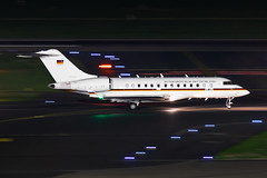 14+03 Germany - Air Force Bombardier BD-700-1A11 Global 5000 (buchroeder.paul) Tags: dus eddl dusseldorf international airport germany europe ground night 1403 air force bombardier bd7001a11 global 5000