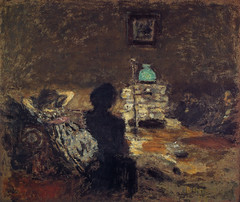 Pierre Bonnard - Under Lamplight, 1899 at Bridgestone Museum of Art Tokyo Japan (mbell1975) Tags: tokyo tokyoprefecture japan jp pierre bonnard under lamplight 1899 bridgestone museum art museo musée musee muzeum museu musum müze museet finearts gallery gallerie beauxarts beaux galleria painting impression impressionist impressionism french