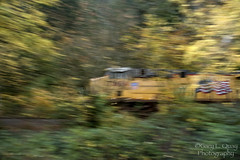 A Train in Motion Tends to Stay in Motion # 2 (Gary L. Quay) Tags: train motion rail railroad freight columbiagorge columbiarivergorge unionpacific bensonlake nikon garyquay