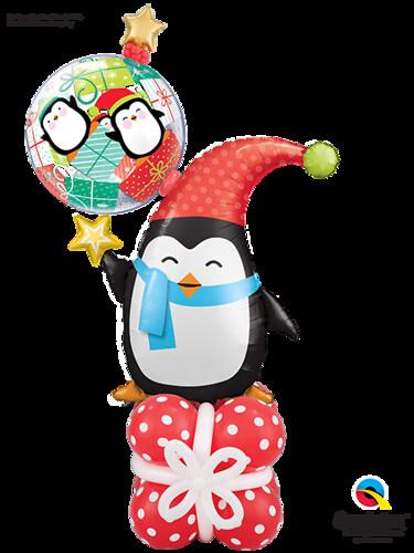 Cheerful Christmas Penguin