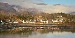 Plockton (M McBey) Tags: plockton westerross scotland scenic hamishmacbeth wickerman loch boats reflection houses mountain d7100 nikon