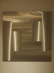 Surface with vibrating texture; Getulio Alviani; 1962 (M_Strasser) Tags: escher mcescher olympusomdem1 olympus holland netherlands