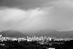 Tehran in rain (prybin) Tags: iran landscape m6 summicron35 tehran trix city cityscape