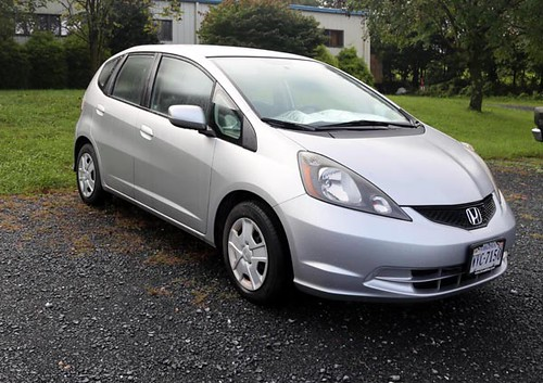 2013 Honda Fit 4 door car with only 35K miles; one owner ($9,520)