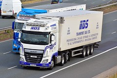 BV16 AEM (Martin's Online Photography) Tags: daf xf truck wagon lorry vehicle freight transport commercial tgx a1m northyorkshire nikon nikond7200