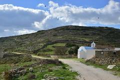 (orientalizing) Tags: church cyclades greece islands landscape mountain mtmarpessos paros terracing
