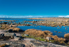 Coastal  Scenery (bjorbrei) Tags: sea ocean coast shore water autumn rock sky blue viker asmaløy hvaler norway