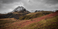 Thorsmork (creyala) Tags: autumn iceland thorsmork mountain colors dramatic nature world wilderness wild snow yellow red canon 70d