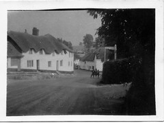 My First Tour - Devon & Cornwall 1947 - 4 (54mge) Tags: thatched village cottage