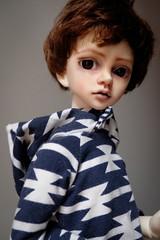 Jamie gets a face (fifilatrixabel) Tags: doll mind mullins dim bjd boy male msd ttya