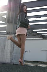 264 (ZoeLinda) Tags: heels highheels shoes stilettos legs nylons pantyose makeup tgirl tranny crossdress crossdressing drag skirt fashion
