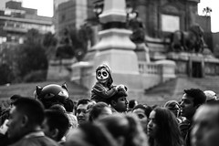 Street Portrait of Miguel from 'Coco' (Frederik Trovatten) Tags: coco disney miguel street streetphotography streets blackandwhite fineart fineartphotography blackandwhitephotography mexico mexicocity cdmx dayofthedead muertos dia kid halloween facepaint fuji fujifilm xt3 bokeh shallowdepthoffield shallow