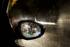... wing mirror view ... [explored 22.09.18 - thanks everyone!] (jane64pics) Tags: 52weeksof2018 week38 reflections reflection creative night nightshoot nightphotography nightlights light lightanddark trail lighttrail inthecar wingmirrorview rainy rainynightreflections street janefriel janefriel2018