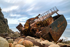 Mulheim Wreck (Andrew Hocking Photography) Tags: mulheim wreck cornwall sennen landsend landscape seascape coast coastal seaside sea ocean ship shipwreck rust mechanical