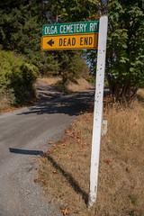A Little Orcas Island Humor (El Cajon) Tags: humor cemetery dead end death